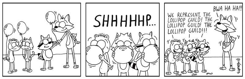 BUBBLE'S BALLOON BALLYHOO: THE LOLLIPOP RAGTAGS